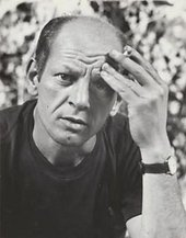 Fig.6 Hans Namuth, Photograph of Jackson Pollock, 1950