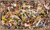 Fig.6 Jackson Pollock, Convergence 1952