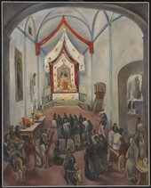 Fig.6 Maurice Sterne, Mexican Church Interior 1934–5