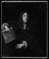 Fig.7 Infrared reflectograph of Portrait of an Unknown Man c.1660