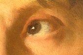 Fig.7 Detail of the man's left eye