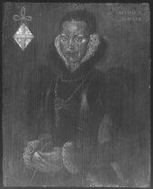 Fig.7 X-radiograph of Portrait of Elizabeth Roydon, Lady Golding