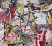 Fig.7 Willem de Kooning, Gotham News 1955