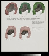 Fig.8 An impression of the changes that were made by the artist during painting, drawn by the late Joyce Plesters of the National Gallery, London