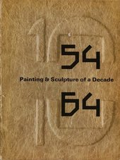 Fig.9 Cover of the exhibition catalogue for 54–64: Painting and Sculpture of a Decade