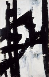 Fig.8 Franz Kline, New York, N.Y. 1953