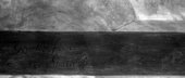 Fig.9 Infrared reflectogram detail of the signature