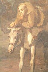 Fig.9 Detail of Hudibras on his horse
