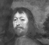 Fig.9 Infra-red detail of Porter's head