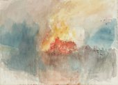 Fig 2 J.M.W. Turner, A Fire at the Tower of London 1841