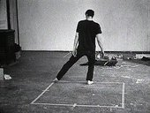 Bruce Nauman Dance or Exercise on the Perimeter of a Square (Square Dance) 1967–8 (still