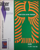 Fig.10 Brochure for the First Pan-African Cultural Festival, Algiers, 1969
