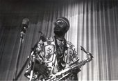 Fig.11 Jazz musician Archie Shepp performing at the First Pan-African Cultural Festival, Algiers, 1969