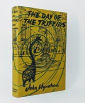 Fig.12 Cover of the British edition of John Wyndham's The Day of the Triffids (1951)