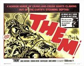 Fig.15 Promotional poster for Them! (1954)