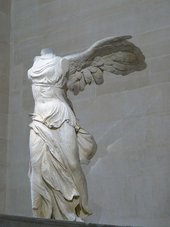 Fig.16 Winged Victory of Samothrace 220–185 BC