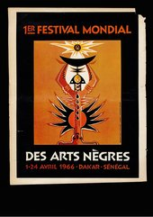 Fig.1 Ibou Diouf, Poster for the First World Festival of Negro Arts, Dakar, 1966