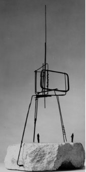 Fig.2 Reg Butler, Final maquette for The Unknown Political Prisoner 1951–2