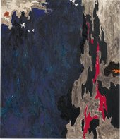 Fig.2 Clyfford Still, No.21 1948