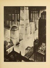 Fig.2 Hugh Ferriss, Crowding Towers 1929