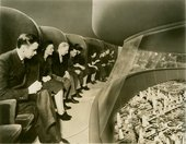 Fig.3 Norman Bel Geddes, General Motors – Futurama – Visitors in Moving Chairs Viewing Exhibit 1935–45