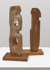 Fig.3 Barbara Hepworth, Maquette for 'The Unknown Political Prisoner' 1952