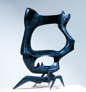 Fig.8 Bernard Meadows, Black Crab 1951–2