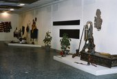 Fig.9 Installation view of the Negro Art exhibition the Musée Dynamique, Dakar, 1966