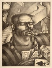 Fig.9 Theodore Roszak, The Jailor (The Prisoner) 1928