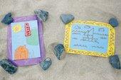 photograph of sand art activity