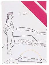 Franz West, Werkstudie im Aktionismusstil, c1974