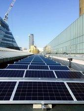 Solar PV system on tate Modern's boiler house