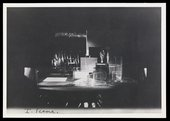 La Chatte, performed by Sergei Diaghilev's Ballets Russes with architecture and sculpture constructed by Naum Gabo and Antoine Pevsner (1927) photographed by Manuel Henri