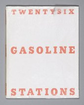 Edward Ruscha, Twentysix Gasoline Stations, 1963