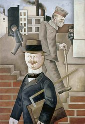 George Grosz - Grey Day 1921