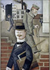 George Grosz Grey Day 1921 Nationalgalerie Berlin © Estate of George Grosz, Princeton, N.J.