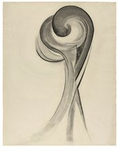 Georgia O'Keeffe, No.12 Special 1916, charcoal on paper,