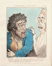 Thomas Rowlandson (after G.M. Woodward), Terrour or Fright, 1800
