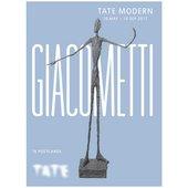 Giacometti postcard book
