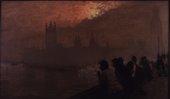 Giuseppe De Nittis Westminster 1878 Private Collection