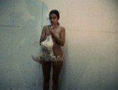 Ana Mendieta Chicken Movie, Chicken Piece 1972, film still. Copyright The Estate of Ana Mendieta Collection, L.L.C. Courtesy Galerie Lelong & Co. and Alison Jacques Gallery
