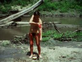 Ana Mendieta Blood Inside Outside 1975, film still. Copyright The Estate of Ana Mendieta Collection, L.L.C. Courtesy Galerie Lelong & Co. and Alison Jacques Gallery