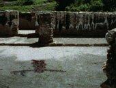 Ana Mendieta Silueta del Laberinto [Laberinth Blood Imprint] 1974, film still. Copyright The Estate of Ana Mendieta Collection, L.L.C. Courtesy Galerie Lelong & Co. and Alison Jacques Gallery