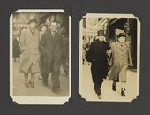 Grace Pailthorpe and Reuben Mednikoff, from a photograph album of the couple in America and Canada, 1941–5 - National Galleries of Scotland, Scottish National Gallery of Modern Art Archive