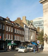 The workshop where William Blake served his apprenticeship was located on what is now Great Queen Street, Covent Garden