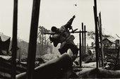 Don McCullin Grenade Thrower, Hue, Vietnam 1968