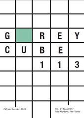 Grey cube flyer
