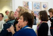 Group visitors in the gallery space at Tate St Ives © Tate