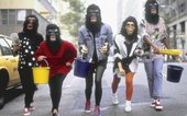 Photograph of the Guerrilla Girls Photograph: George Lange