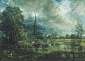 John Constable Salisbury Cathedral from the Meadows 1829-1931 © Guildhall Art Gallery